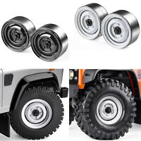 "1.9"" Metal Wheel Rims for Traxxas TRX4 Axial SCX10 II CC01 D110 D90 Crawler 1/10"