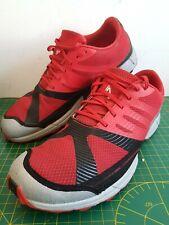 Inov 8 terra Claw 250 Rojo Negro Trail Running Road Zapatillas Size UK 11 EU 45.5