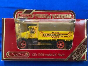 Matchbox Models of Yesteryear - 1920 model AC Mack - Consolidated Motor Lines