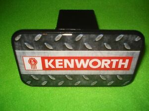 "Kenworth Trucker: Big Rig  2"" Receiver Hitch Cover  * FREE SHIPPING IN U.S.A."