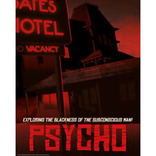 Psycho - Limited Edition Fine Art Giclee