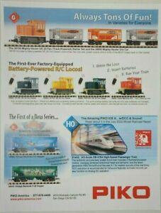 Piko Large Scale/Gauge 1 DCC Digital SmartControl & RC Promotional Pamphlet #2