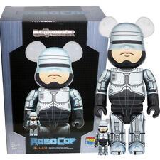 Medicom Be@rbrick Bearbrick MGM Robocop [1987] 100% & 400% Figure
