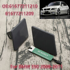 Right+Left Headlight Car Washer Cover Cap Lamp Cover for BMW 3 Series E90 09-11