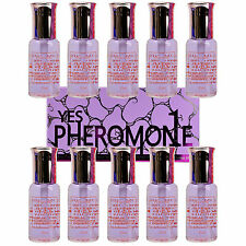 10 Bottle Womens Yes Pheromone Perfume Fragrances Oil Spray Parfum Feromonas Red