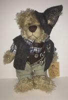 "RF Collection Reinart Faelens German Teddy Bear Plush w/ Charms 12"" Rare"
