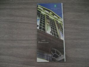 EMBASSY. SUITES HOTELS  DIRECTORY for 2003
