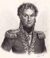 Général Pierre Cambronne Nantes Napoléon Bonaparte Premier Empire Waterloo 1818