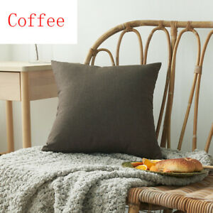solid Cushion Cover Home Fashion Decoration Throw Pillow Case Cushion Cover