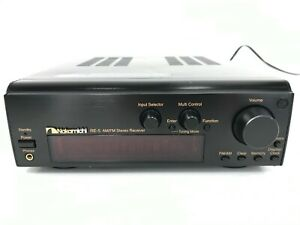 Vintage Nakamichi RE-5 Stereo Receiver AM FM CMS-5 Compact Music System NORemote