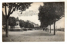 Macon - Quai Sud Photo Postcard c1910