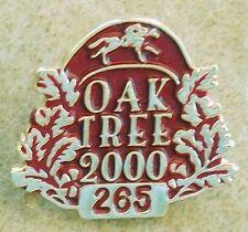 2000 OAK TREE AT SANTA ANITA LOS ANGELES TURF CLUB HORSE RACING MEMBER LAPEL PIN