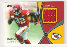 2012 TOPPS DWAYNE BOWE PROLIFIC PLAYMERS JERSEY CARD