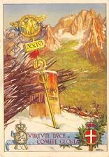 9587) POSTUMIA (SLOVENIA) 24 REGGIMENTO FANTERIA COMO ILL. D'ERCOLI.