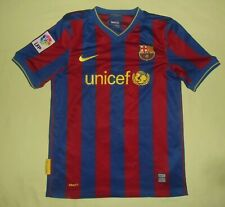 FC BARCELONA / 2009-2010 Home - NIKE - JUNIOR Shirt / Jersey. 12-13y, 152-158 cm