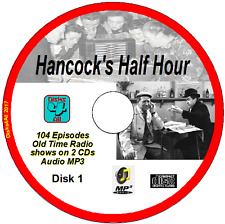 Hancock's Half Hour -  104 Old Time Radio Shows MP3 2CDs Comedy with Sid James +
