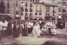 POSTAL  CATALUÑA - VIC - BARCELONA - Glorificación en la Plaza de Vic - MBC