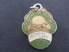 SATC South Australian Trotting Club 1977 78 Members Lady Badge