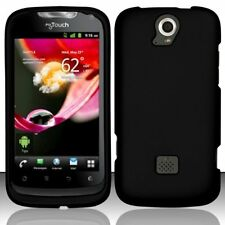 Hard Rubberized Case for Huawei myTouch Q U8730 - Black