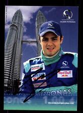 Felipe Massa Autogrammkarte Original Signiert Formel 1 +A 153333