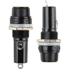 5pcs Chassis Panel Mount Fuse Holder Socket for 6*30 Glass Fuses