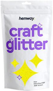 """Ultrafine Glitter Craft Cosmetic Candle Wax Melts Glass Nail Hemway 1/128"""" .008"""""""