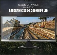 "CrossOver PANORAMIC SCENE 290HD 29"" LED IPS 2560 x 1080 DVI HDMI Monitor"
