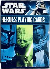 Star Wars Heroes Playing Cards Brand New