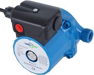 110V NPT3/4'' Domestic Hot Water Circulation Pump 3-Speed 93W Circulator Pump