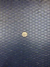 "Expanded Metal Sheet Diamond Pattern .035"" x 12"" x 12"" ->1/4""-#20 Expanded Steel"