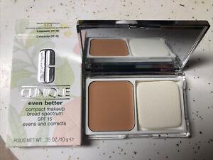 BNIB CLINIQUE Even Better Compact Makeup 2 ALABASTER  SPF15 BRAND NEW