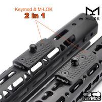 Bipod Adaptor Mount QD Sling Swivel M-lok/Keymod Adapter Rail Attachment Black