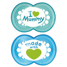 MAM Love & Affection Soothers 4-24 Months 2 Pack Online Only