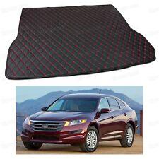 PU Leather Car Trunk Mat Cargo Pad Carpet Fit for Honda Crosstour 2010-2017