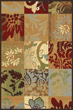 French Country Polypropylene Area Rugs