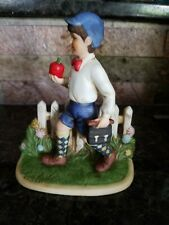 "Vintage Norman Rockwell ""Apple For The Teacher"" Figurine"