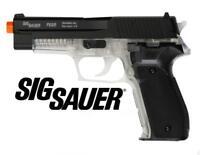 Cybergun Sig Sauer P226 AirSoft Clear Spring Pistol Gun FULL METAL SLIDE 2-Tone