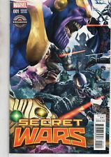 SECRET WARS 1 Sealed Gamestop Exclusive Greg Horn VARIANT 2015