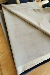LINWOOD OMEGA MOONBEAM VELVET   UPHOLSTERY FABRIC 200cm X 120cm + 145cm X 145cm