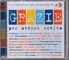 GRAZIE PER AVERCI SCELTO LA COMPILATION DI RADIO 2 SONY 2009 2CD SIGILLATO