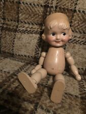 Cameo Margie, 1929 Cartoon Character, Joseph Kallas, Wood Segmented doll w/label