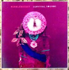 RUBBLEBUCKET Survival Sounds Ltd Ed RARE Sticker +FREE Indie Rock Stickers Lot!