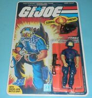 1985 GI Joe Cobra Tele Vipers Figure Complete Sealed MOC *CUSTOM* Card Back READ
