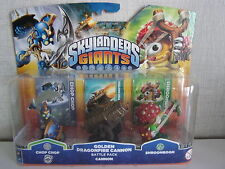 Skylanders Giants - Golden Dragonfire Cannon Battle Pack - NEU OVP