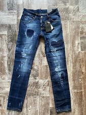 "NEW Dsquared Slim Jean Jeans Waist 33"" / Inseam 32"" SIZE 48"