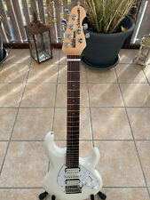 Music Man Silhouette E-Gitarre in weiß