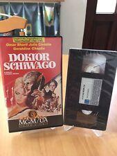 DOKTOR SCHIWAGO     VHS  NEU
