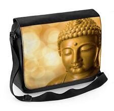 Buddha golden head ordinateur portable sac messenger-bouddhiste bouddhisme méditation