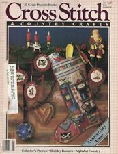 Cross Stitch & Country Crafts HOLIDAY KITCHEN Christmas Stocking Issue Jul 1987