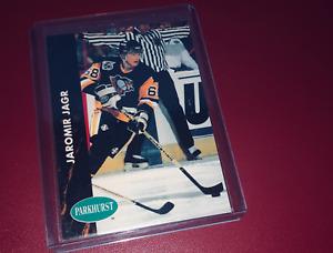 JAROMIR JAGR - 1991-92 PRO SET PARKHURST CARD  # 132 MINT